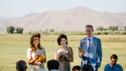 Jessica Graham Officient, Benjamin Molyneux, Melissa Fenton Wedding