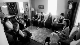 Jessica Graham meditation wedding party